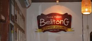rumah makan belitung tempo dulu