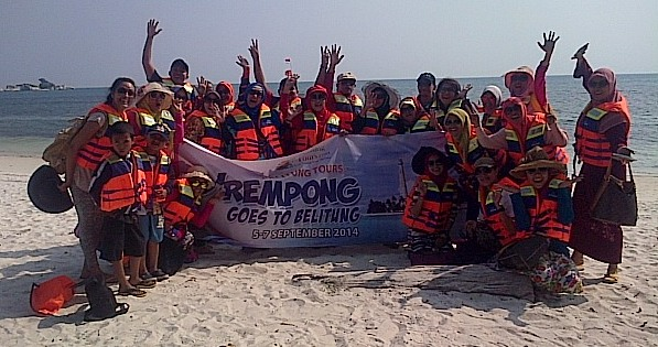 meeting tour belitung