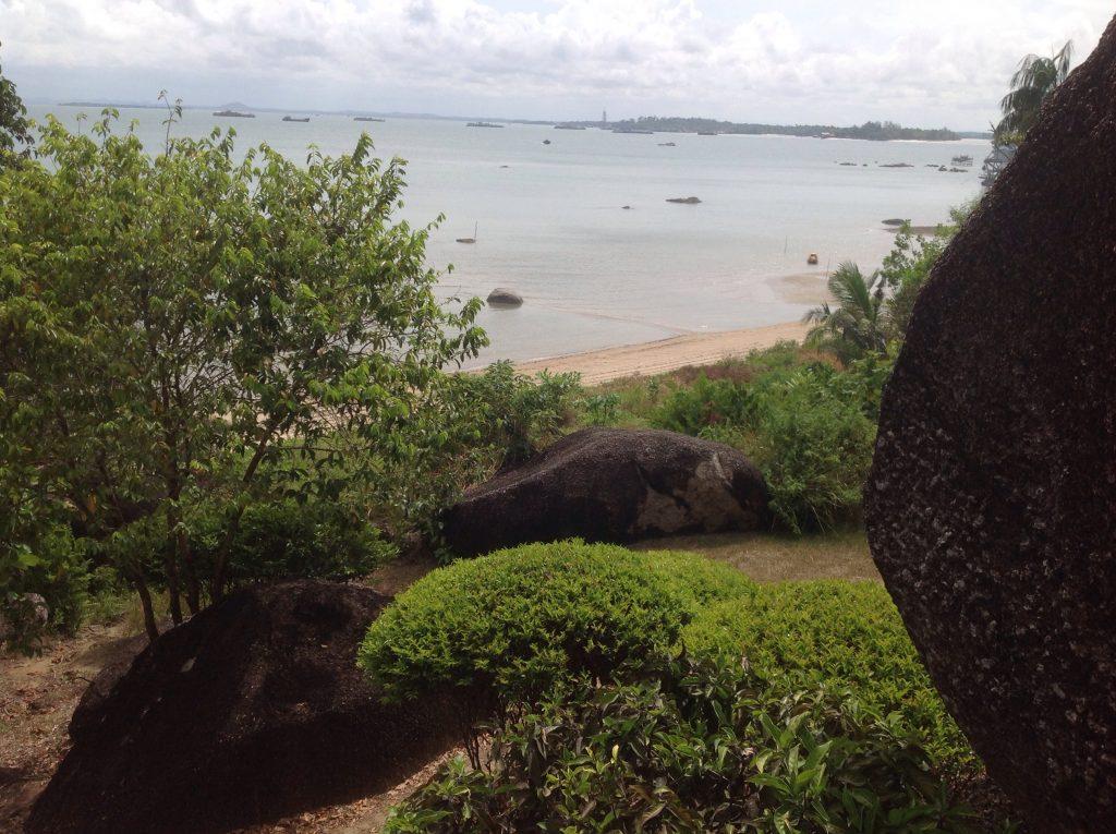 Pantai Batu dinding bangka